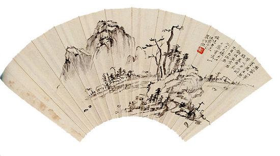 """张大千为老师补笔的那幅画,""""躲""""在主席像后逃过""""文革"""""""