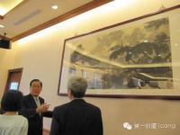 """台湾""""立法院""""被占据,张大千真迹惨变路障"""