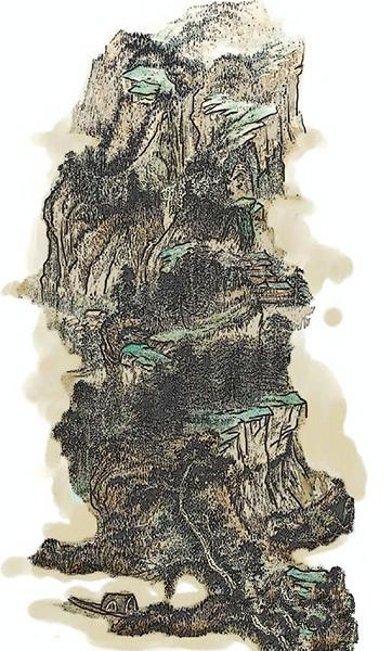 中国拍卖业第一案:张大千《仿石溪山水图》假画案