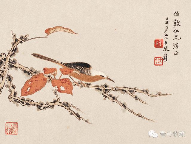 最全的张大千花鸟画集,值得收藏!