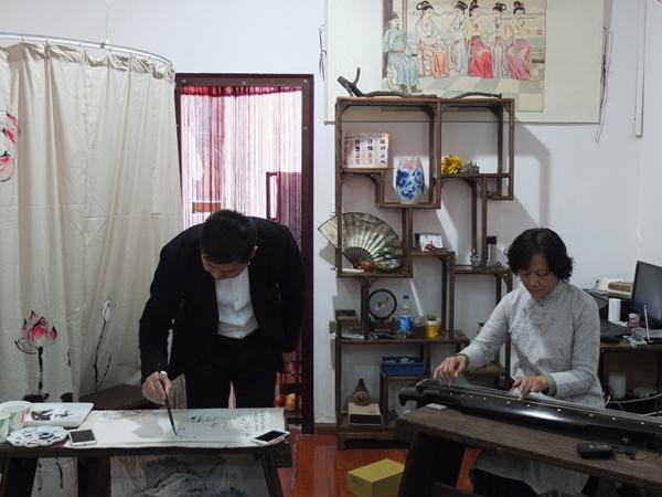 转今日头条:大风堂琴社苏州古琴艺术馆隆重开馆