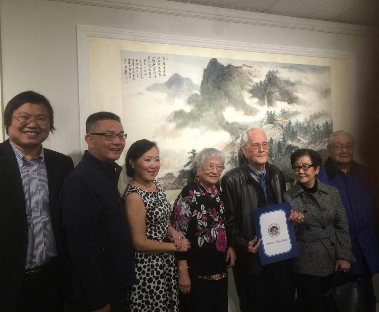 伏文彦书画大展,美国硅谷亚洲艺术中心举办