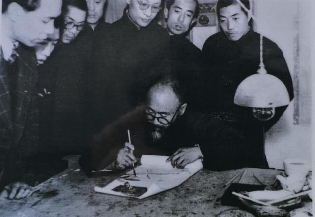张善孖张大千在天津的亲传弟子李文渊