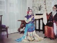 痴迷戏剧,引出内江国画大师张大千的一段情缘……