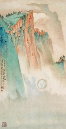 张大千:今人画画,全无精神之托
