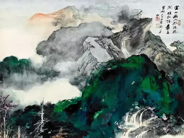 张大千:成功画家没有固定画法能限制他