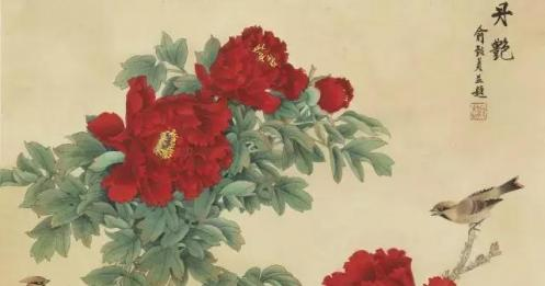 俞致贞:国画作品欣赏,精美无比