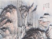 名画鉴赏——张大千《千岩万壑图》