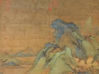 解密张大千生前挚爱《江堤晚景图》和次爱《溪岸图》
