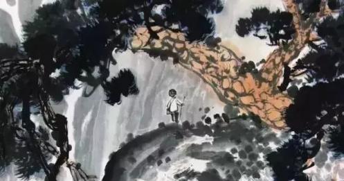 梁树年:初学山水,我主张要先学画树