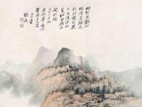 上世纪中国画坛重要的人物,被西方艺坛赞为