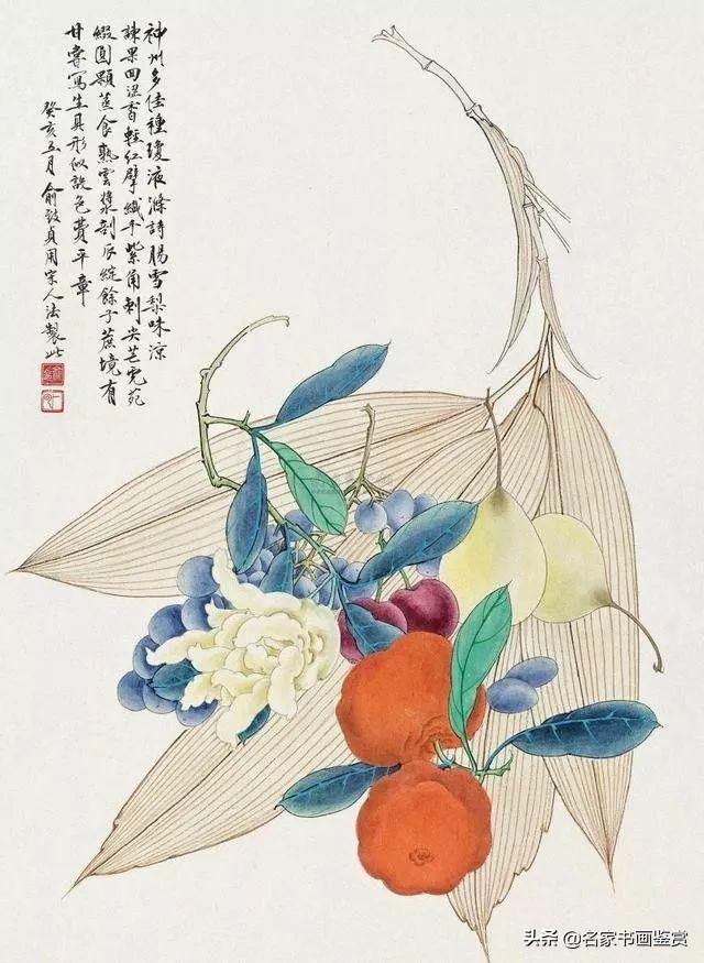 """俞致贞,被誉为""""当代工笔花鸟女状元"""""""