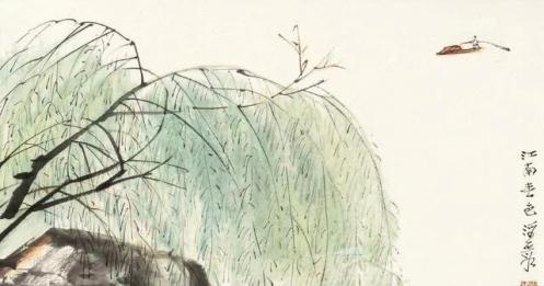 何海霞:他的山水画经历四个阶段,最后一个阶段才是高境界!