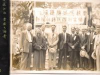 張善子先生題款獨特的一幅《下山虎》 ------ 1939 年 6 月朔 敬贈 紐約龍岡親義公所