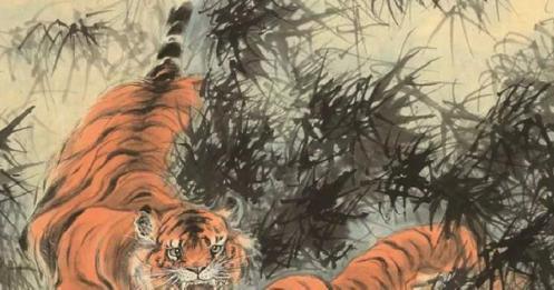 入世的虎痴张善孖和出世的黑猿张大千:滚滚红尘中的画家兄弟